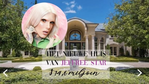 Jeffree Star koopt huis van $14,6 miljoen: dit is 'm