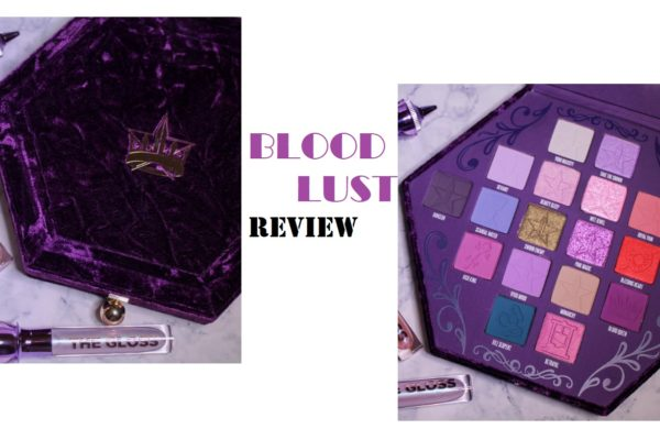 Jeffree Star Cosmetics BLOOD LUST palette | Review