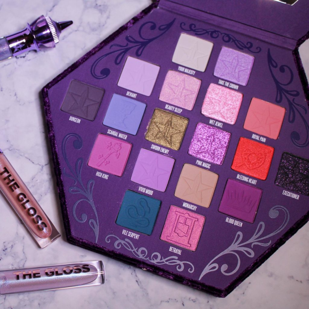 jeffree star cosmetics blood lust review