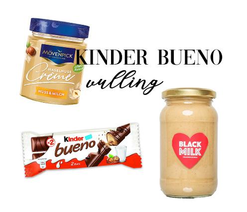De vulling van Kinder Bueno kopen? Deze vullingen smaken hetzelfde!