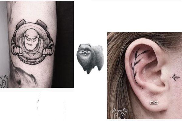 Unieke & bijzondere tattoo inspiratie! | BlackBear ink in Eindhoven