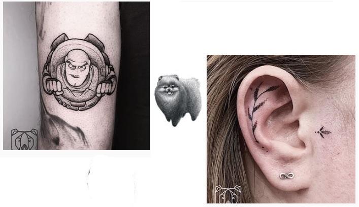 blackbear ink tattoos piercings eindhoven