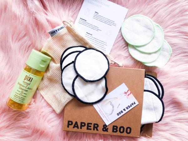 Nooit meer wattenschijfjes kopen? Paper & Boo wasbare wattenschijfjes review