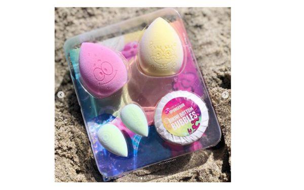 Spongebob wordt een echte make-up spons in samenwerking met dit merk!