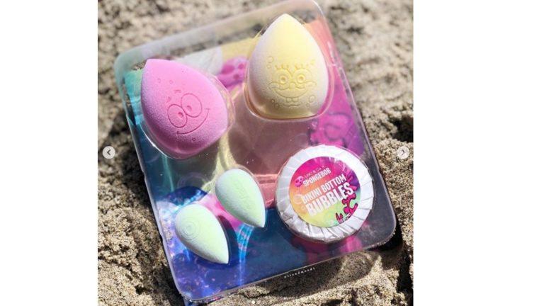 Spongebob makeup spons