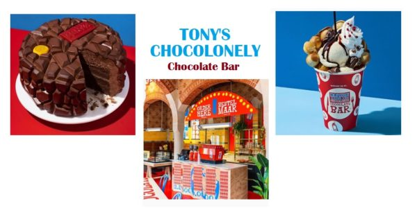 Tony's Chocolonely heeft een Chocolate Bar in Amsterdam!