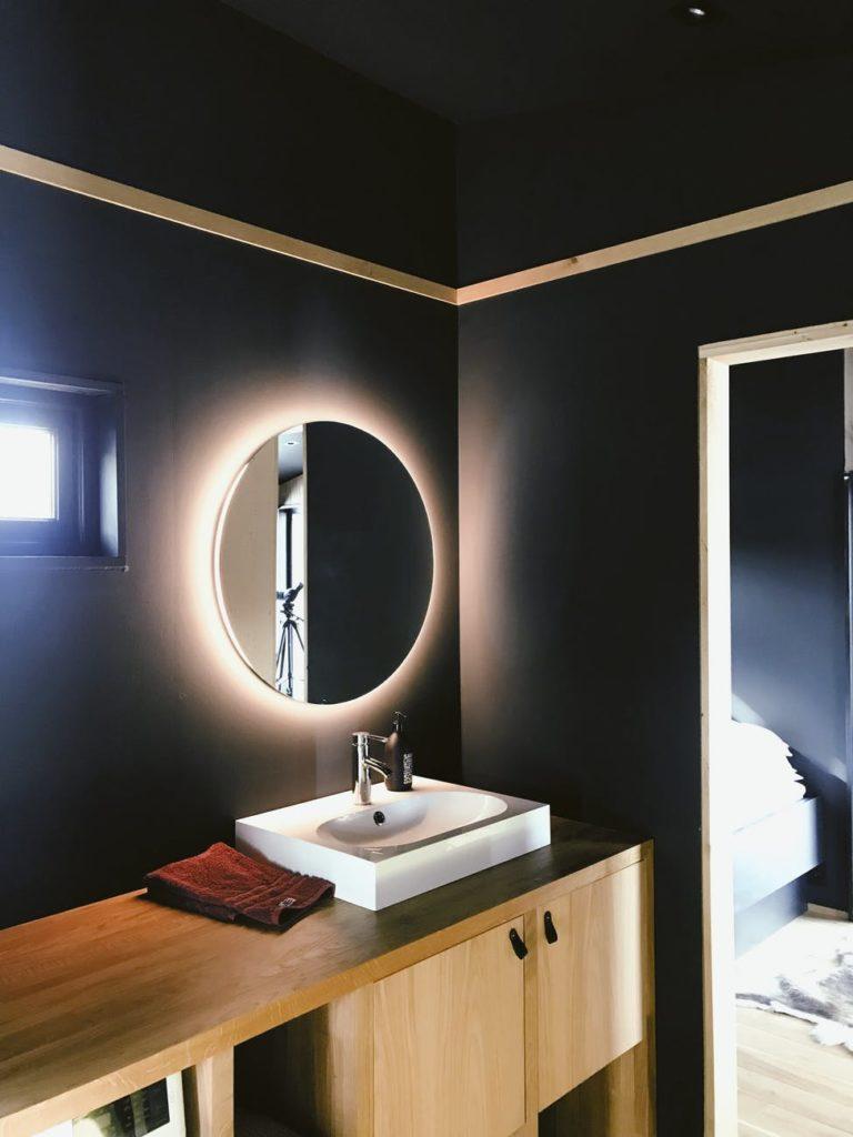 led spiegel badkamer